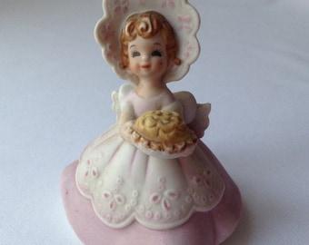 Sweet Josef Originals Figurine  -Little Girl Holding A Pie