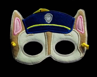 In Hoop Paw Pals Mask 1