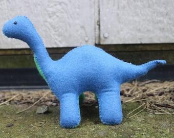 Felt Brontosaurus
