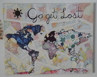 Go Get Lost World Map