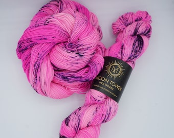 Please Sir I Want Some More - Superwash Sock Yarn - 463 yards -  75 SW Merino  25 Nylon - Indie Dyed