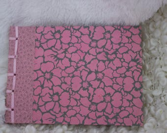 Notebook Pink flowers