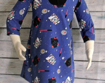Darth Kitty Wonderland Dress- Girls size 4t