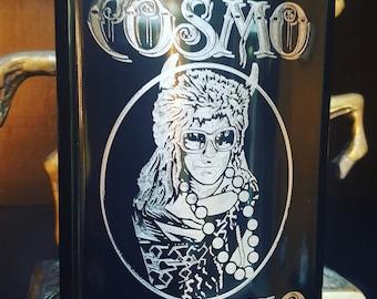 Boyfriend Flask - Personalized Gift - 5 year anniversary  - Custom Illustration - Engraved Flasks - Be My Groomsman - Memory Box Idea
