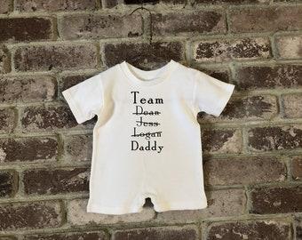 Gilmore Girls Baby, Gilmore Girls Baby Clothes, Gilmore Girls Baby Romper, Gilmore Girls Baby Shower Gift, Team Dean Jess Logan