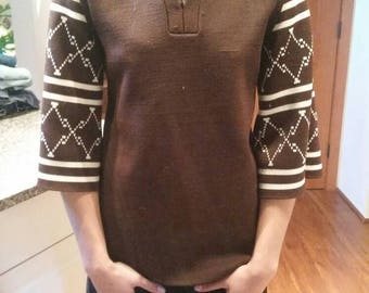 Vintage pull over sweater, 70s
