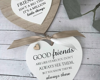 Personalised Friendship Chain Hearts Gift P671