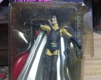 Vintage Dr.frank m further Rocky horror picture show action figure ships fast