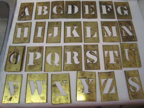 Letras grandes de plantilla vintage vintage plantilla for Plantillas letras grandes