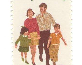Unused 1972 Family Planning - Vintage Postage Stamps Number 1455