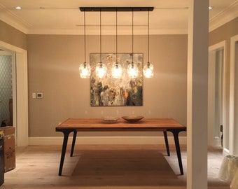 Custom Order for Yellowfin21 Chandelier and Entryway Pendant
