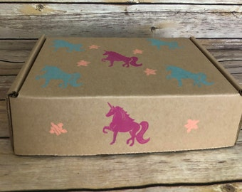 UNICORN Gift Box- Natural Bath/Body Products