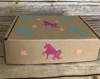 UNICORN Gift Box- Natural Bath/Body Products