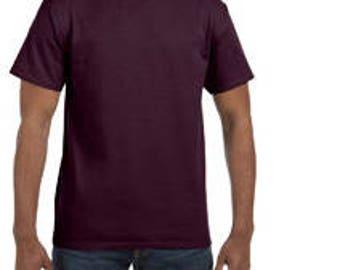 MEN'S SHIRT QUANTITY for your custom screen print design