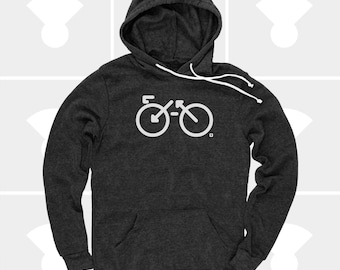 Bike Hoodie Men | Bicycle Shirt Men | Road Biking | Mountain Biking | Biking Gift | Gift for Men | Gift for Biker | Gift for Husband