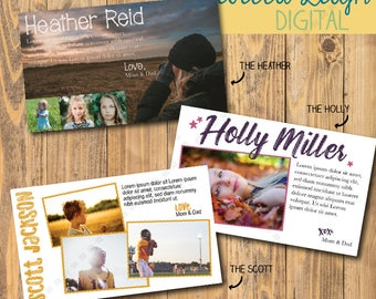 1/8th pg Yearbook Ad | Pre-made Design | Customizable | Senior Ad | Yearbook Advertisement