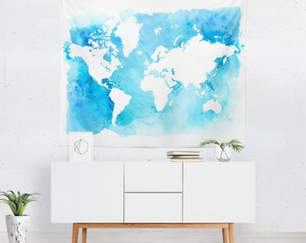 World map tapestry world map wall art world map wall world map tapestry world map wall decor world map wall hanging world map gumiabroncs Image collections