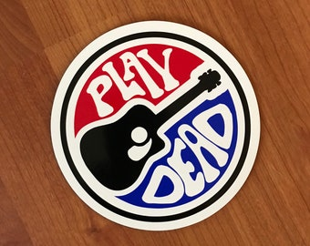 Play Dead Guitar magnet
