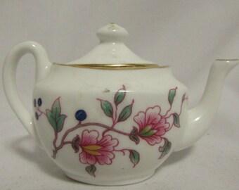 Tiny Teapot, Bone China, Hammersley, England, 1980's