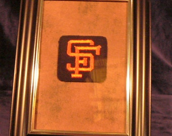 c1960 San Franciso Giants MLB Uniform Logo Patch