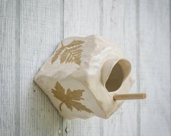 Fall Leaves Birdhouse