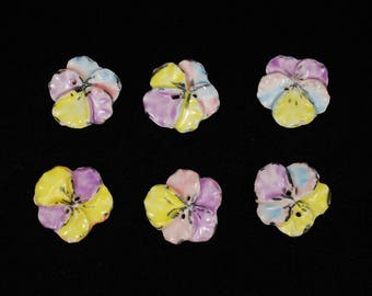 Popular Items For Realistic Pansy