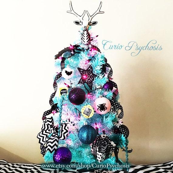 Jack Skellington Christmas Ornament: Nightmare Before Christmas Ornament Tree: Sally's Tree