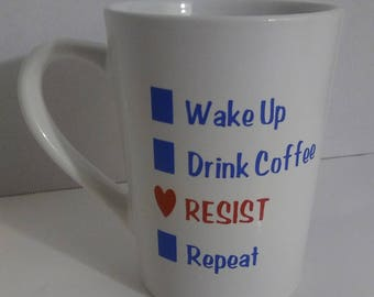 Resist Coffee Mug