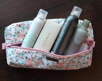Rosie Collection - Large Costmetic & Toiletry Box Bag