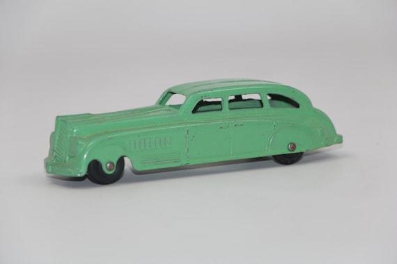 1940s Jumbo Tootsie Toy Torpedo Sedan Exc Condition Green