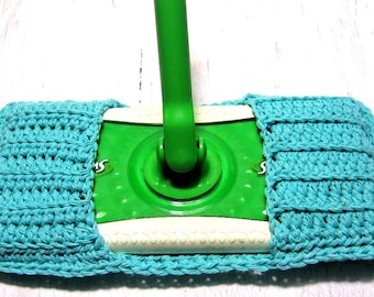 Swiffer Mop Cover,  Spring Cleaning, Housewares, Duster, Cleaning Supplies, London,Ontario,Eco Friendly, Zero Waste, Sea breeze Blue