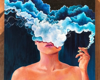 Head in the Clouds Fine art print