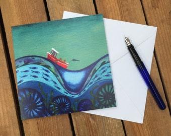 Art Card - Knuckled Down