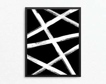 Abstract Art, Abstract Print, Minimalist Art, Black and White Art, Modern Print, Abstract Digital Print, Abstract Printable, Abstract Poster