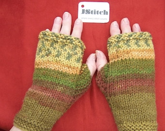 Fingerless mittens, Fingerless mitts, Fingerless gloves, Hand knitted wrist warmers, Hand knit wrist warmers, Arm warmers, Hand knitted,