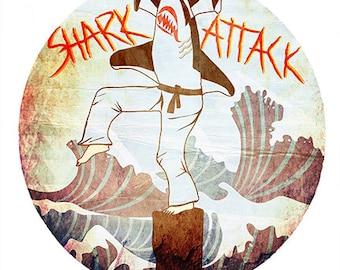 Shark Attack - Print