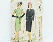 1940s Wrap Dress Pattern ...