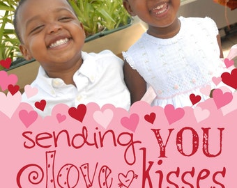 Sending Love - Custom Photo Valentines Card