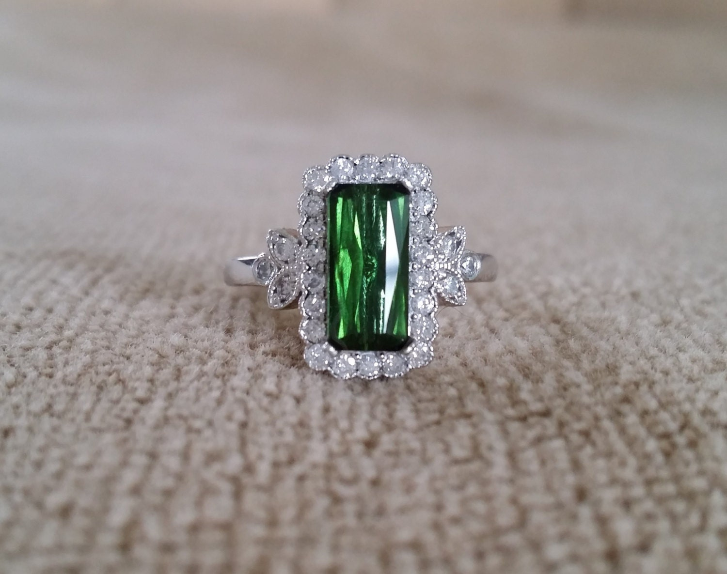 rings fashion green photo engagement pretty tourmaline image ring gallery
