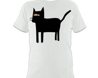 Catsuit - White T-shirt