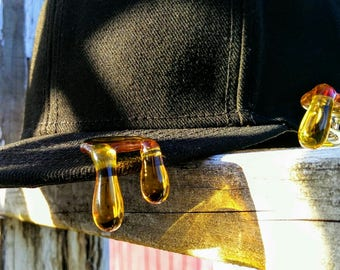 Golden Honey Brim Drip Hat Pin™