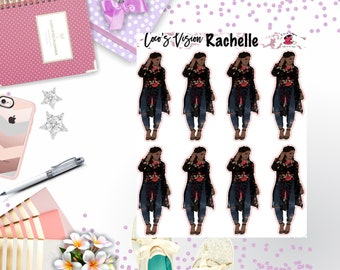 Rachelle Stickers and Die Cuts