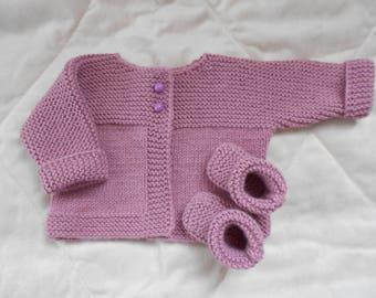 knitted jacket for children