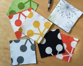 """Comma MINI Charm Pack (42) 2.5"""" Squares - Zen Chic for Moda - Modern Quilting Sewing Craft Cotton Fabric"""