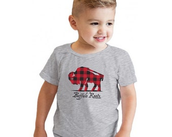 Buffalo Check - Toddler and Kid Size TShirts
