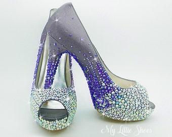 Purple heels | Etsy