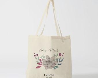 W21Y Tote bag Saint Valentin/marriage, bag canvas, cotton bag, diaper bag, handbag, tote bag, race bag, bag courses, shopping bag