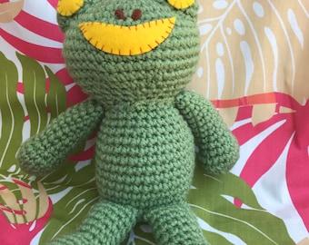 Stuffed Animal Frog