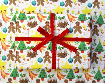Yay it's Christmas Wrapping Paper