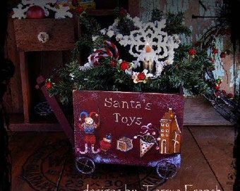 Santa's Toy Wagon, by Terrye French, E-Patterb